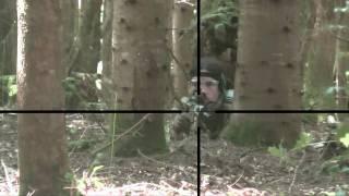 getlinkyoutube.com-N°1 Sniper Airsoft Scope cam bolt 410fps VaVAnN
