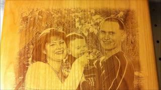 getlinkyoutube.com-Laser Engraving Wood How To, Part 1 (Wood Selection)