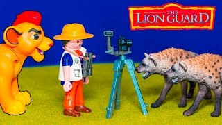 getlinkyoutube.com-LION GUARD Disney Lion Guard Kion Saves Explorer Dan a Lion Guard Video Parody