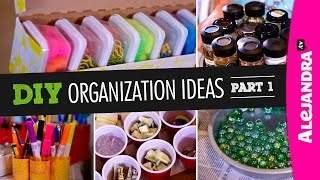 getlinkyoutube.com-DIY Organization Ideas (Part 1)
