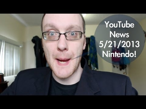 Nintendo vs YouTube! Networks! Cossbysweater! - YouTube News