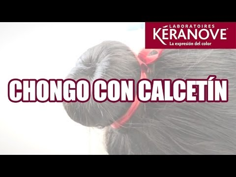 DIY Tutorial: Chongo con calcetín