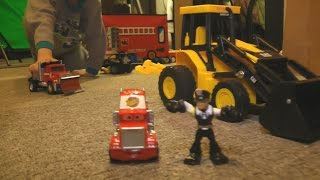 getlinkyoutube.com-Fun TOY Cars and Trucks KIDS PLAYING iMagination PLAYTIME