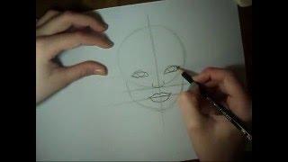 getlinkyoutube.com-Tutorial: Como desenhar rostos