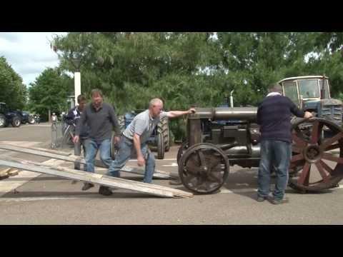 Les vieux tracteurs à Passion Ford 2013