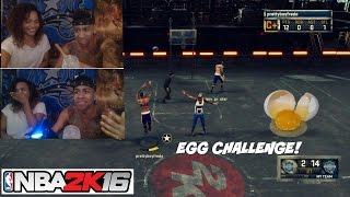 getlinkyoutube.com-NBA 2K16| Girlfriend EGG CHALLENGE!! DONT MISS!! haha (MUST WATCH) - Prettyboyfredo