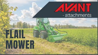Flail Mowers 4, Avant 300-700 Series attachment