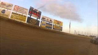 Steve Whiteaker #89 - World Modified Dirt Track Championship - Olympic FIre Protecion In-Car Cam view on youtube.com tube online.
