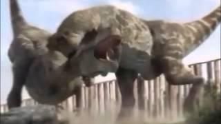 getlinkyoutube.com-T-Rex vs Spinosaurus