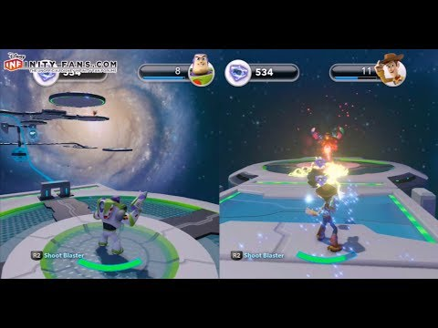 Disney Infinity Toy Story in Space Zurg mission simulation 6 no survival walkthrough