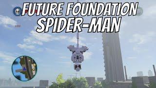 getlinkyoutube.com-LEGO Marvel Superheroes - Future Foundation Spider Man Location and Gameplay