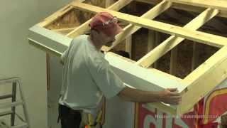 getlinkyoutube.com-How To Build A Shed -  Part 4 Installing Sheet Metal Roof