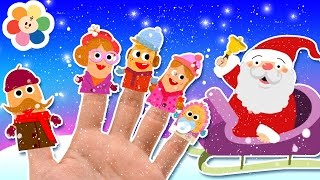 getlinkyoutube.com-Christmas Finger Family Song | Jingle Bells Song | Plus More Kids Songs | Baby First