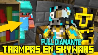 getlinkyoutube.com-TRAMPA SKYWARS | SAUNA DE LAVA CALENTITA | MATANDO FULL DIAMANTE