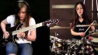 getlinkyoutube.com-Tina S and Meytal Cohen   Metallica cover Master of Puppets