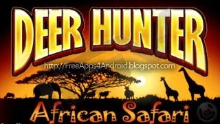 Deer Hunter African Safari & Iphone Gameplay Video