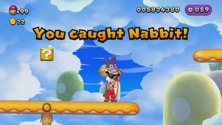 getlinkyoutube.com-New Super Mario Bros. U - All Nabbit Chases