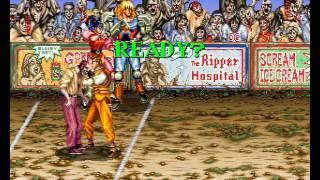 getlinkyoutube.com-Night Slashers 3 player Netplay arcade game