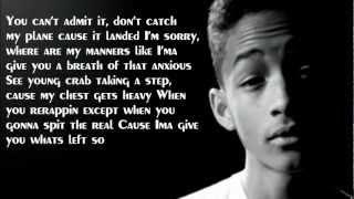 getlinkyoutube.com-Jaden Smith ft. Kid Cudi - Higher Up Lyrics