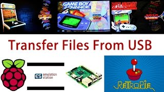 Transfer Roms to Retropie With USB Flash Drive (NO WIFI Required)