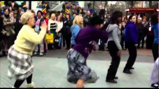 getlinkyoutube.com-Old ladies hijack street Dance Birmingham New Street