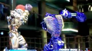 getlinkyoutube.com-Real Steel Noisy Boy vs Midas Ps3