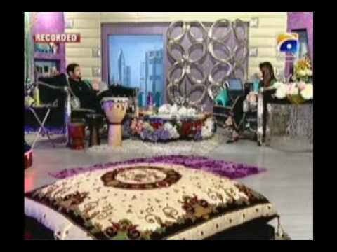 Nadeem Akhtar Saifi of Nadeem Shravan in NADIA KHAN SHOW    Part 4 of 13