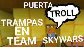getlinkyoutube.com-TRAMPAS EN TEAM SKYWARS | IMITANDO A BBOYMORENO92 | EMPUJE Y PUERTA TROLL