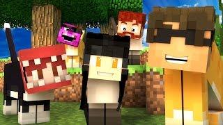 SKY + APHMAU = ULTIMATE HIDING DUO! | Minecraft Mini-Game CAT HIDE N SEEK /w Facecam!