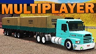 getlinkyoutube.com-Grand Truck Simulator Multiplayer - COMBOIO + SCANIA MODIFICADA