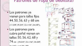 Cómo hacer ropita para recién nacido en http   Patronesderopa.com - YouTube 92b375a7584