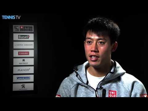 Nishikori Excited For Basel 2016 Final
