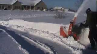 Ariens Snowblower Over 2 Feet of Snow