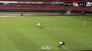 Gol de Paulinho do Vasco contra o São Paulo - Copa do Brasil Sub-20 (26/04/2017)