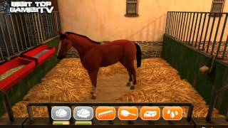 getlinkyoutube.com-Horse Game: HorseWorld 3D (iOS / Android) GamePlay Trailer