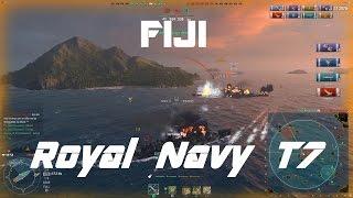 getlinkyoutube.com-Royal Navy T7: Fabulous Fiji [160k damage]