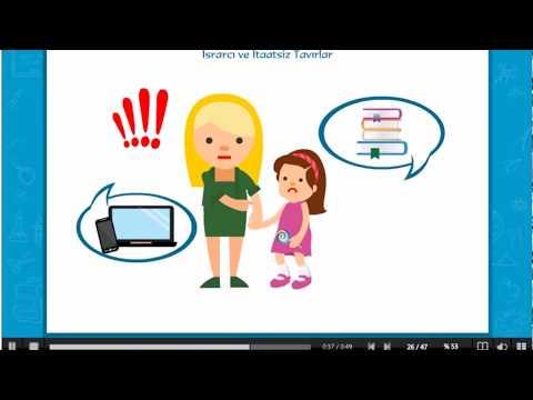 Çocuklarda Olumsuz Davranış ve Tavırlar