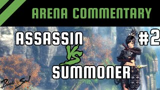 getlinkyoutube.com-Arena PvP Commentary #2: Assassin vs Summoner [Platinum] | Blade and Soul