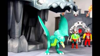 getlinkyoutube.com-Stop Motion Playmobil : Chevaliers et Dragons