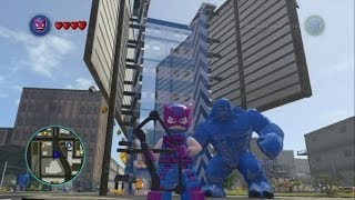 getlinkyoutube.com-LEGO Marvel Super Heroes - All 8 DLC Super Pack Characters + Free Roam Gameplay