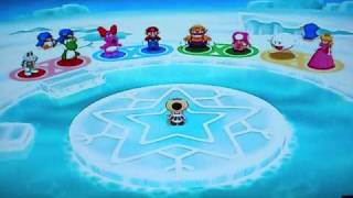 getlinkyoutube.com-8 player special! Coveted Giant Penguin!Mario Party 7!