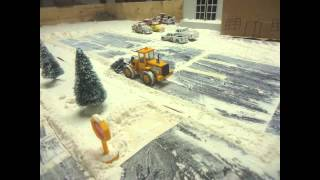 getlinkyoutube.com-SNOW PLOWING STOPMOTION