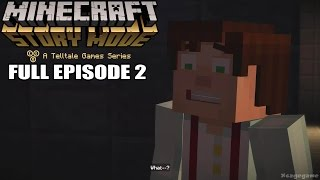 getlinkyoutube.com-Minecraft Story Mode FULL Episode 2 - Gameplay Walkthrough [ HD ] - No Commentary