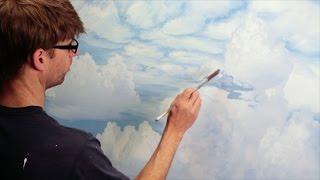 getlinkyoutube.com-How To Paint Clouds - Mural Joe