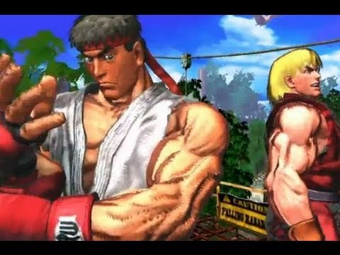 Street Fighter X Tekken: Street Fighter Gameplay Trailer