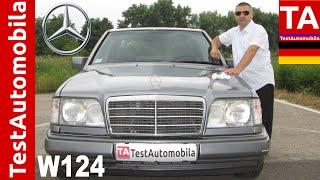 getlinkyoutube.com-MERCEDES W124 E220 - POČASNI KRUG