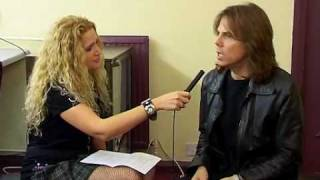 getlinkyoutube.com-Interview with Joey Tempest in Hammersmith. Nov 05