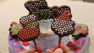 getlinkyoutube.com-Heart Chiristmas Oekaki Choco Party おえかきチョコパーティー