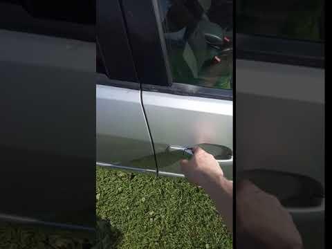 Ручка двери, после регулировки Ford Mondeo 3