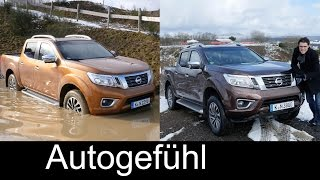 getlinkyoutube.com-Nissan Navara NP300 Frontier FULL REVIEW Offroad Onroad test driven all-new neuer 2017